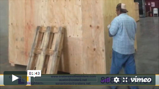 Austin Crating, Packing & Shipping Video